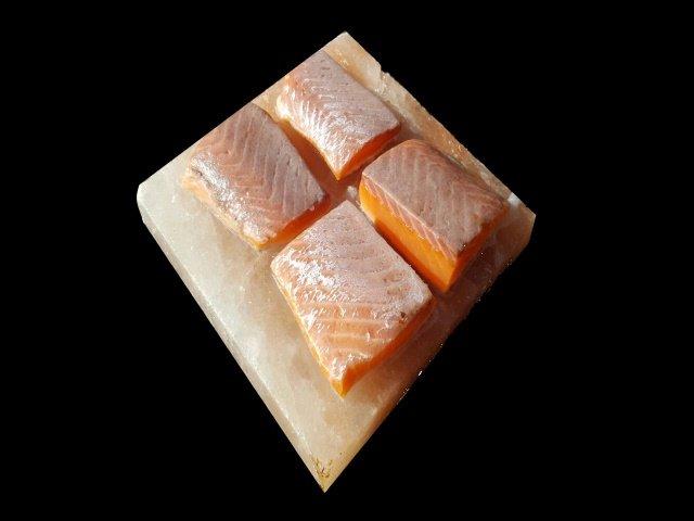 BBQ Salt Block, Salzstein, Salzfliese, 20x20x2,5cm
