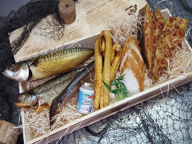 Geschenkkiste Räucherfischkiste Classic