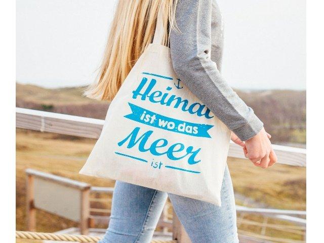 Heimatmeer Tasche Heimat ist wo das Meer ist