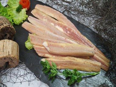 Räucheraalfilet Aalfilet 200gr. (ohne Haut)