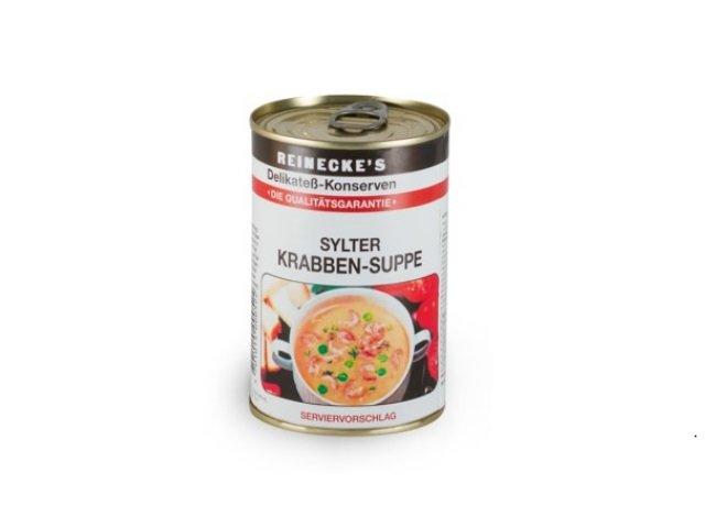 1 Dose Sylter Krabben-Suppe Reinecke´s