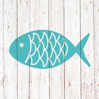 Lunch Servietten Cabana Fish