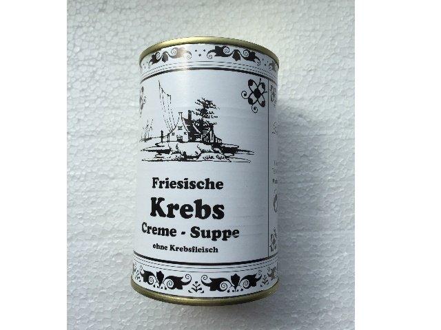 1 Dose Friesische Krebs Creme-Suppe