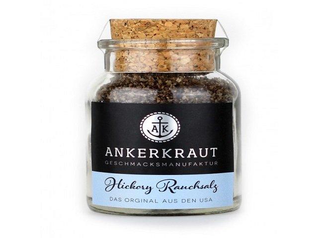 Ankerkraut Hickory Rauchsalz (Meersalz mit Hickory) 90g