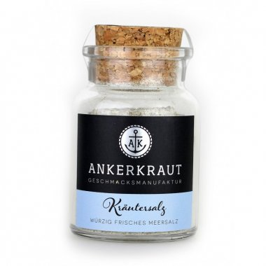 Ankerkraut Kräutersalz Korkenglas 100g