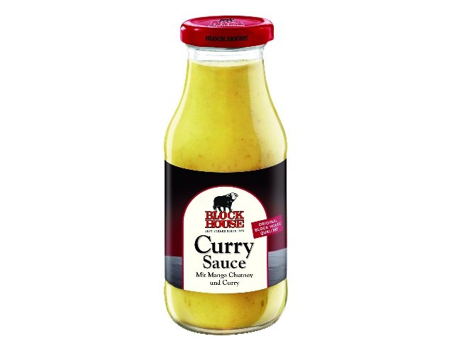 Block House Curry Sauce 240ml