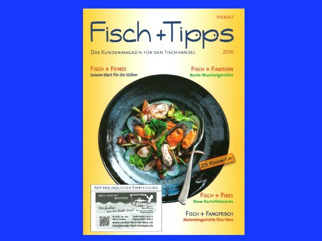 Magazin Fisch+Tipps Herbst 2019