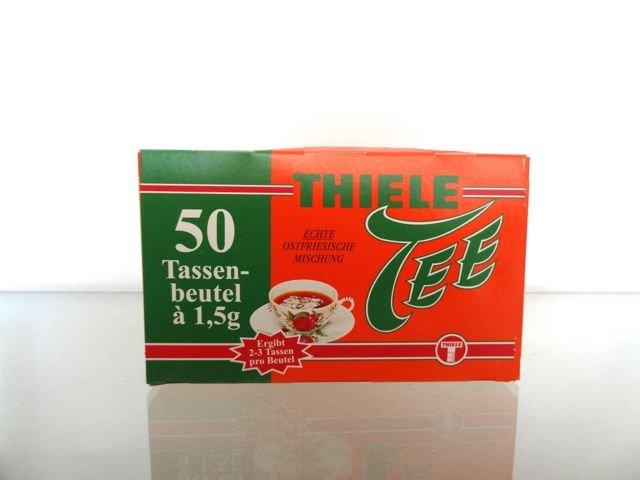 Thiele Tee Broken Silber 50 Tassenbeutel von 1,5g Echte Ostfriesen Mischung