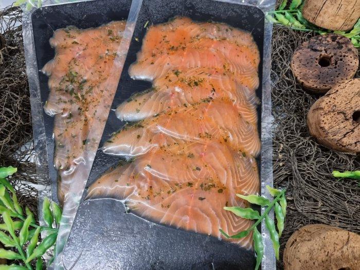 Räucherlachs Wildkräuter Sapphire Salmon