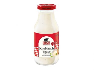 Block House Knoblauch Sauce 240ml