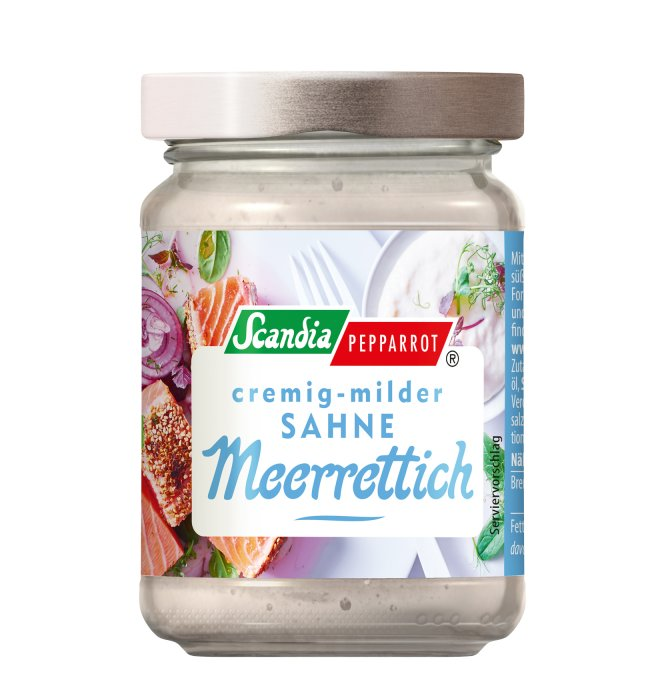 Sahne-Meerrettich Scandia 80g