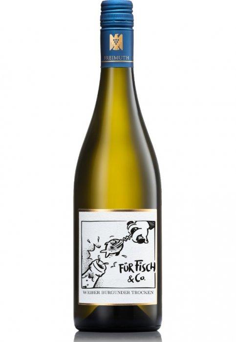 Freimuth Weißer Burgunder Trocken für Fisch & Co
