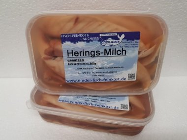 Milch Salzherings-Milch 500g