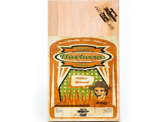 Axtschlag 3 Stück Wood Planks Grillbretter Erle