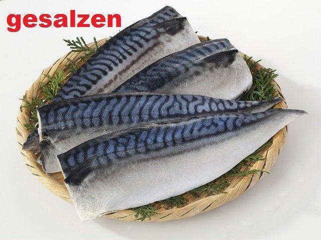 Makrelenfilet gesalzen zum selber Räuchern