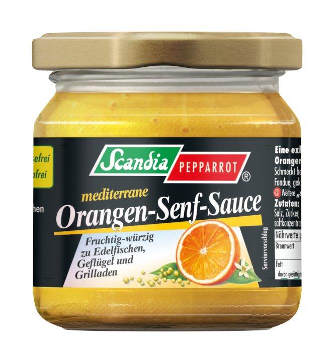 Orangen-Senf-Sauce nach mediterraner Art Scandia 180g