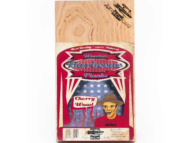 Axtschlag 1 Stück Wood Planks Grillbretter Kirsche