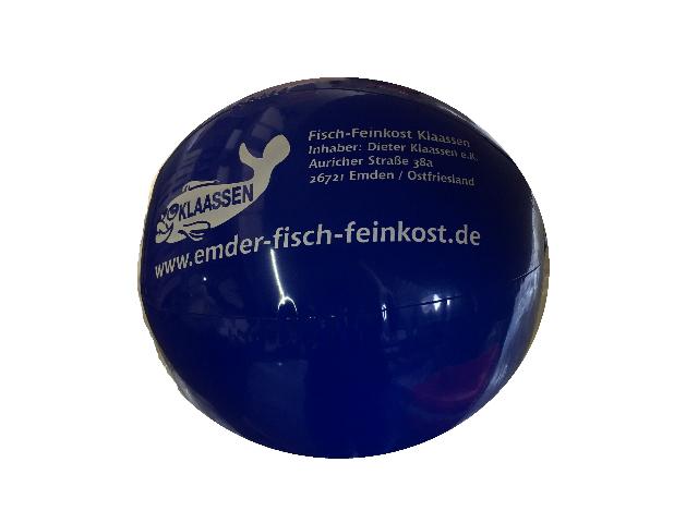 Wasserball 40cm mit Logo