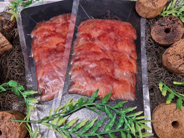 Räucherlachs Rotholz Sapphire Salmon