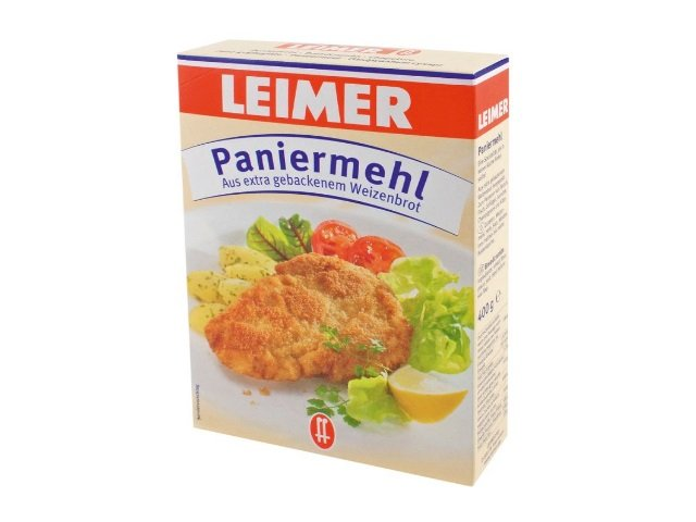 Leimer Paniermehl aus extra gebackenem Weizenbrot