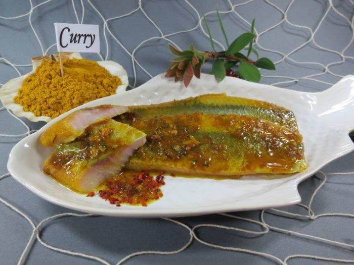 Curry Matjesfilets
