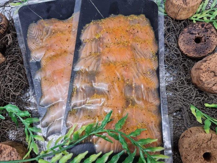 Räucherlachs Zitronenpfeffer Sapphire Salmon