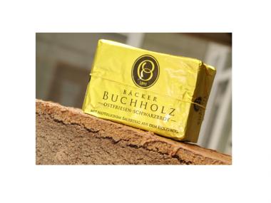 Schwarzbrot 500g von Bäcker Buchholz