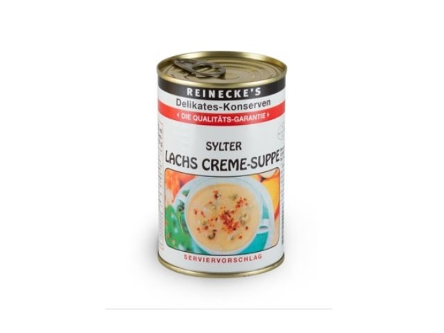 1 Dose Sylter Lachs Creme-Suppe