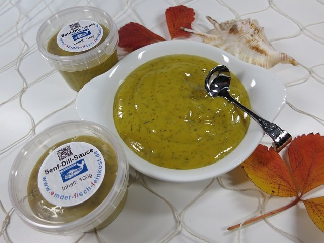 Senf-Honig-Dill-Sauce