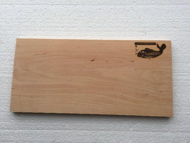 1 Grillbrett Erle Klaassen mit Logo